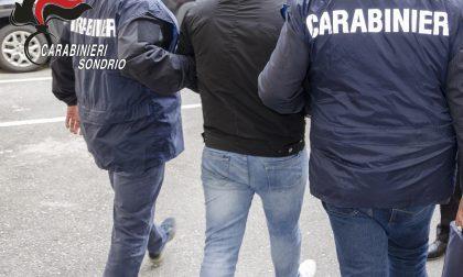 Pericoloso latitante arrestato in Valtellina