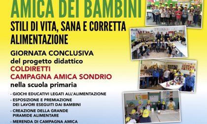 """Festa in piazza Garibaldi per il progetto """"Stili di vita, sana e corretta alimentazione nelle scuole"""""""