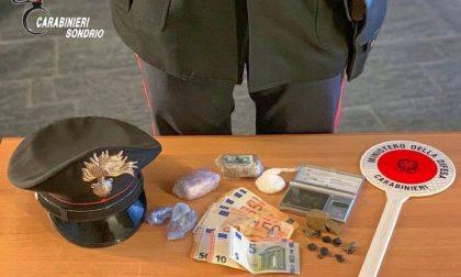 Droga, due arresti a Grosotto