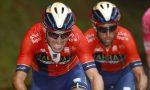Caruso e Nibali a Livigno verso il Tour de France