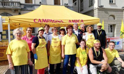 In piazza a Sondrio la grande festa di Coldiretti coi bambini