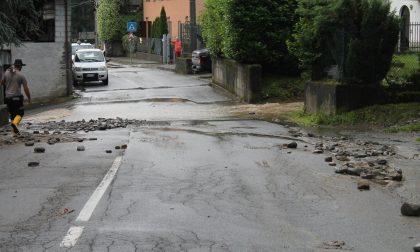Numerosi danni per il maltempo in Bassa Valle FOTO