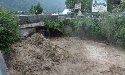 Pioggia record in Valtellina