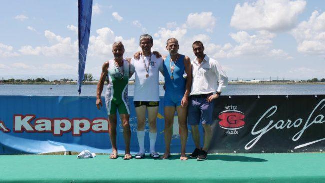 Doppio argento e un bronzo per la Canottieri Retica FOTO
