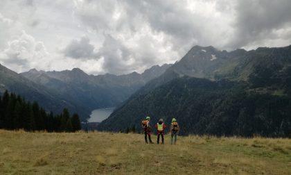 Due infortunati sulle montagne di Aprica