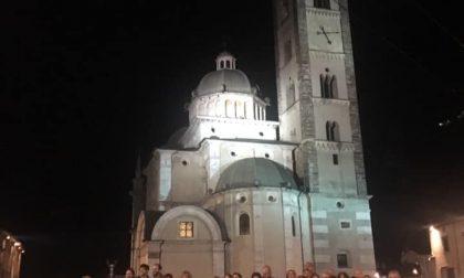 In tanti all'apertura della Novena alla Madonna di Tirano
