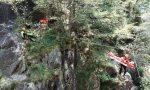 Infortunato mentre fa canyoning, interviene il Soccorso Alpino