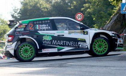 Guerra e Salinetti vincono il Rally Coppa Valtellina