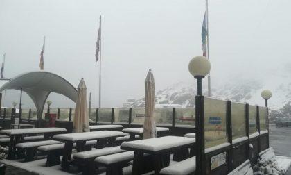 Allo Stelvio arriva la neve