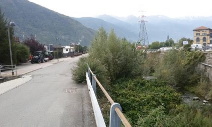 Il Poschiavino a Tirano fa paura