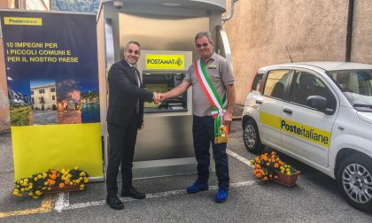 Inaugurato il nuovo ATM Postamat