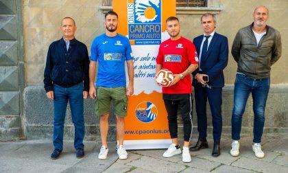 """Il Sondrio Calcio """"veste"""" Cancro Primo Aiuto"""