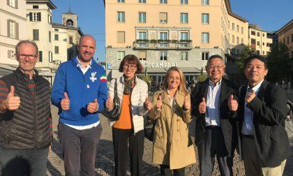 Olimpiadi dei Sordi, delegazione giapponese in visita