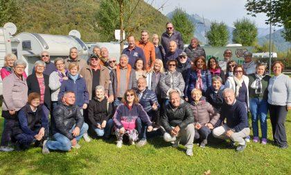 Campeggiatori lombardi a Lovero