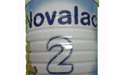 Ritirati quattro lotti di latte in polvere Novalac 2