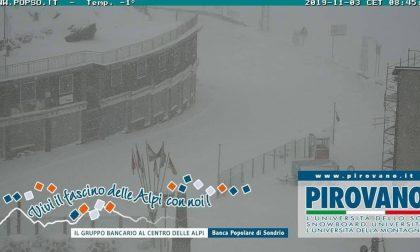 Stelvio chiuso per forti nevicate