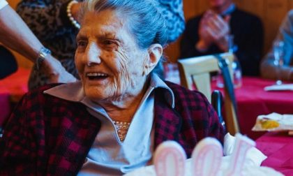 Alma compie 100 anni, auguri da tutta la città