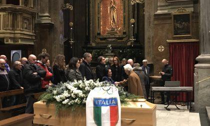 Commosso addio della Valle a Mario Cotelli