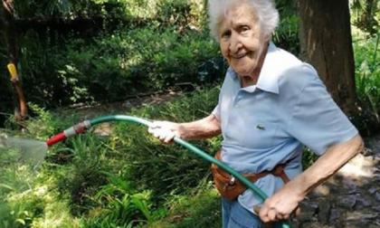 Cernobbio in lutto: addio Nonna Pupa, anima del Giardino della Valle