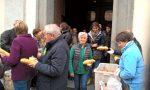 Per 500 anni dopo la messa distribuiti pane e formaggio Bitto