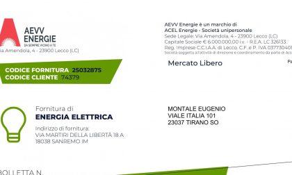 Ecco com'è la nuova bolletta delle società di vendita luce e gas del gruppo Acsm Agam