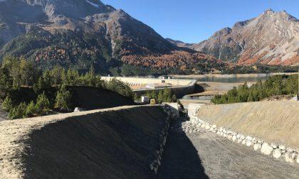 Valdidentro: avviati due lavori strategici per l'area di Cancano