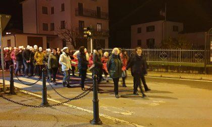 A Lovero tutti per strada contro la violenza sulle donne