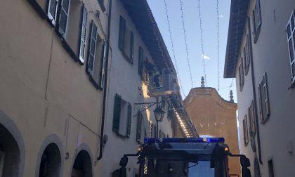 Incendio in un appartamento a Chiavenna