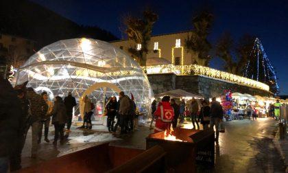 Successo pieno per i mercatini di Natale ad Albosaggia FOTO