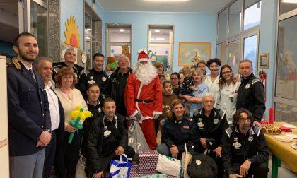 Babbo Natale in Pediatria a Sondrio