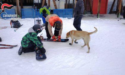 Sballo sulle piste, tre sciatori nei guai