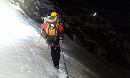 Due scialpinisti salvati dopo aver sbagliato strada