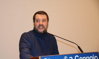 Bagno di folla per Salvini a Bormio