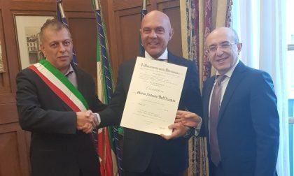 Marco Dell'Acqua è Cavaliere al merito della Repubblica