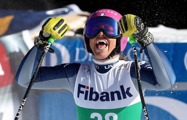 Dopo la vittoria e i piazzamenti di Bansko, Elena Curtoni in gara nel weekend a Sochi