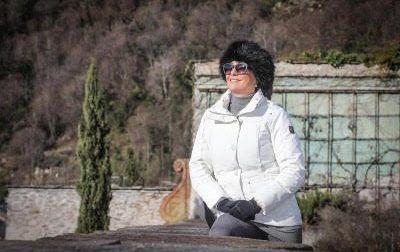 Tessa Gelisio promuove la Valchiavenna