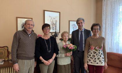 Sondrio festeggia i 100 anni di Maria Martini