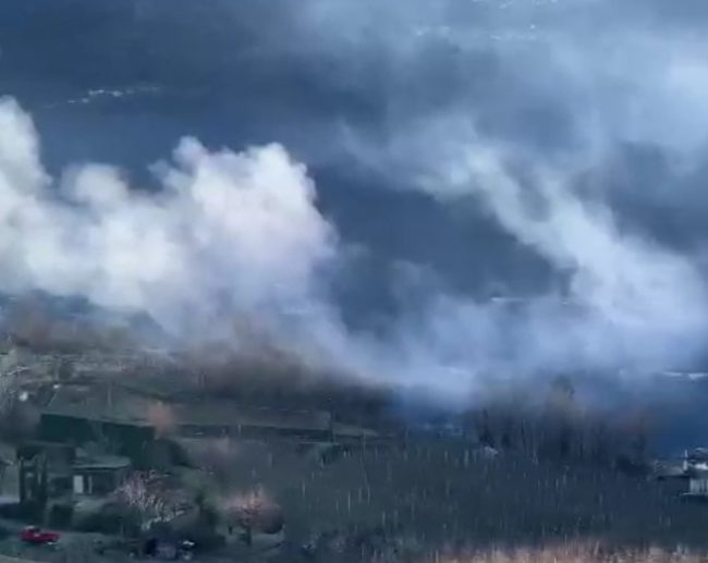 Qualità dell'aria, proteste contro chi brucia i residui di potatura – VIDEO