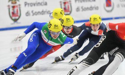 Mondiali Short Track: a Bormio è subito record