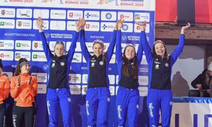 Mondiali Junior Short Track: per l'Italia è Bronzo grazie alle valtellinesi