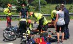 Spaventoso schianto, ferito un motociclista – FOTO