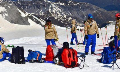 Tre i positivi nel gruppo della nazionale di sci allo Stelvio