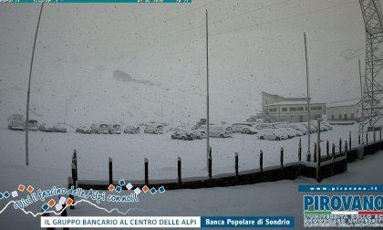 Nevica in Alta Valtellina VIDEO