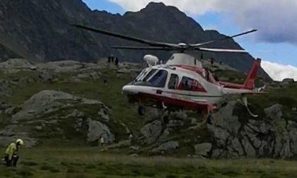 Fiume di fango in Val Codera, salvati due scout