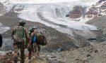Bombe sul ghiacciaio dei Forni FOTO