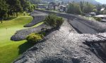 Nubifragio a Bormio, devastato il campo da golf FOTO