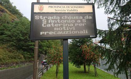 Maltempo: chiusa la strada per Santa Caterina Valfurva