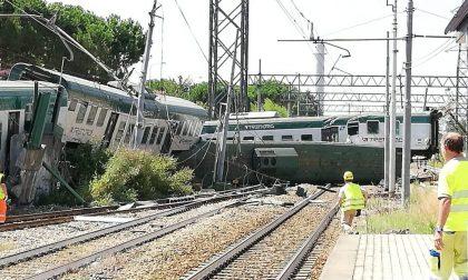 Treno deragliato sulla Milano-Lecco