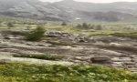 Val Codera: il bivacco Arnasca sfiorato dal fiume di fango VIDEO