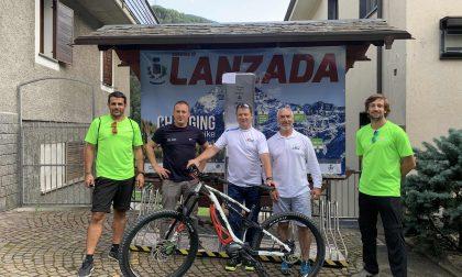 A Lanzada energia gratuita per gli e-bikers